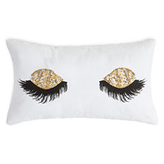 Home Expressions Sequin Eyelash Pullow