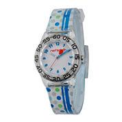 Red Balloon™ Boys Blue Stripe Bracelet Watch