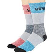 Vans® 2-pk. Devs Crew Socks