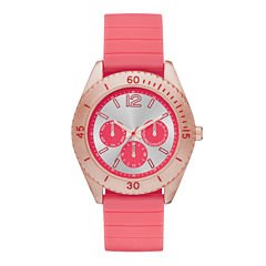 Womens Silicone Strap Boyfriend Watch