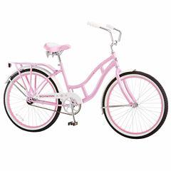 Schwinn Girls Front Suspension Cruiser Bike