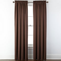 Royal Velvet® Georgia Rod-Pocket Curtain Panel