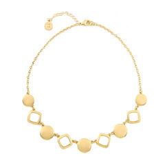 Liz Claiborne® Gold-Tone Collar Necklace
