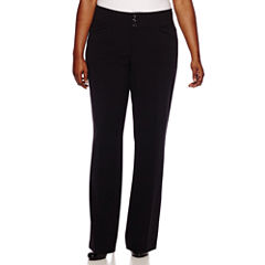 HollyWould Three-Button Pants - Juniors Plus