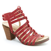 J Sport By Jambu Sugar Womens Heeled Sandals