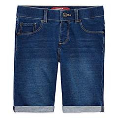 Arizona Knit Bermuda Shorts - Big Kid Girls Plus