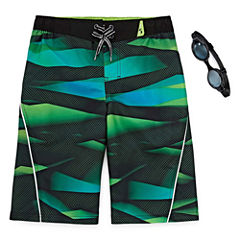Zeroxposur Boys Print Swim Trunks-Big Kid