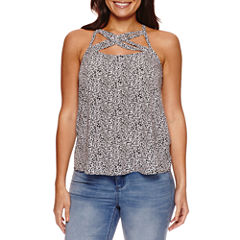 Bold Elements Caged Front Halter Top