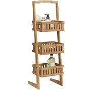 Creative Bath™ Eco Styles Bamboo 3-Shelf Vanity Valet