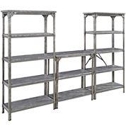 Uptown Style 3-pc. Storage Shelf Set