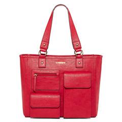 Liz Claiborne Rose Laptop Tote Bag