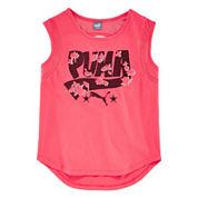 Puma® Tropical Graphic Print Tank Top - Girls