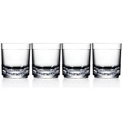 Drinique Unbreakable Elite Set of 4 Tumbler Glasses