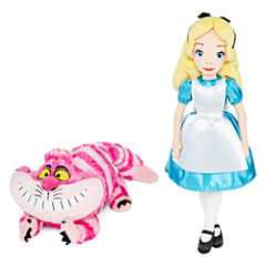 Disney Collection Cheshire Cat Medium Plush or Alice Soft Doll