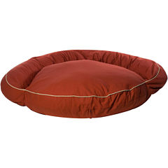 Carolina Pet Co. Classic Bolster Indoor/Outdoor Round Pet Bed