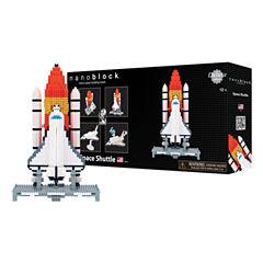 Ohio Art nanoblock® Deluxe Edition Level 6 - Space Shuttle: 1600 Pcs