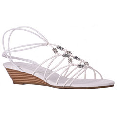 New York Transit Advanced More Womens Wedge Sandals