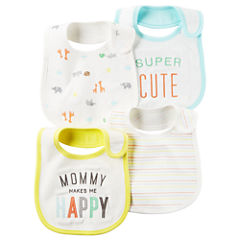 Carter's Unisex 4-pc. Bib