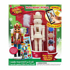Masterpieces Puzzles Works of Ahhh... Wood Painting Kit - Nutcracker Prince