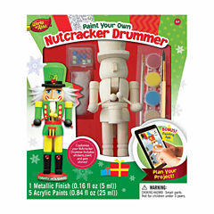 Masterpieces Puzzles Works of Ahhh... Wood Painting Kit - Nutcracker Drummer