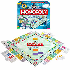 Winning Moves Monopoly The Mega Edition
