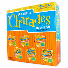 Outset Media Family Charades In a Box Compendium
