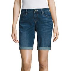 a.n.a Denim Bermuda Shorts-Talls