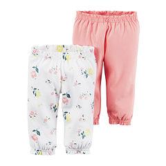 Carter's® 2-pk. Pants - Baby Girls newborn-24m