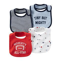 Carter's® 4-pk. Bibs - Baby Boys newborn-24m