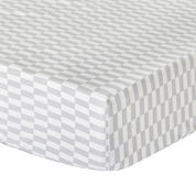 The Peanut Shell® Mosaic Fitted Crib Sheet