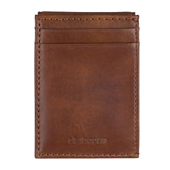 Claiborne® Wide Magnetic Front-Pocket Wallet