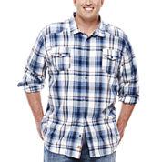 Monte Long-Sleeve Plaid Woven Shirt - Big & Tall