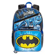 DC Comics Batman Backpack with Lunchkit - Boys