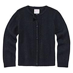 IZOD® Long-Sleeve Cardigan Sweater - Preschool Girls 4-6x