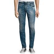 JF J. Ferrar® Slim-Fit Crackle Jeans