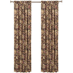 Queen Street® Catherine 2-Pack Rod-Pocket Lined Curtain Panels