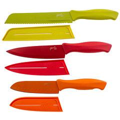 Fiesta® 6-pc. Chef Knife Set