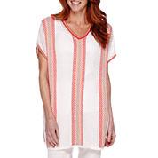 Sag Harbor Bahama Mama Poncho Sweater