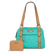 Rosetti® Edge Out Satchel Bag