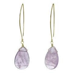 ROX by Alexa Purple Cape May Teardrop Earrings