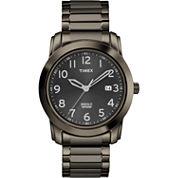 Timex® Mens Gunmetal Round Watch