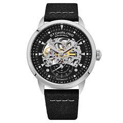 Stuhrling Mens Brown Strap Watch-Sp16488