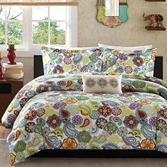Mi Zone Asha Paisley Comforter Set & Accessories