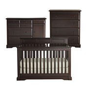 Rockland Hartford 3-pc. Baby Furniture Set - Coffee