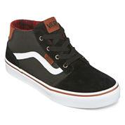 Vans® Chapman Mid-Top Boys Skate Shoes - Big Kids