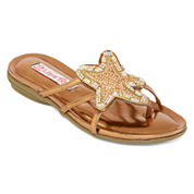 Two Lips Too Cai Flat Sandals