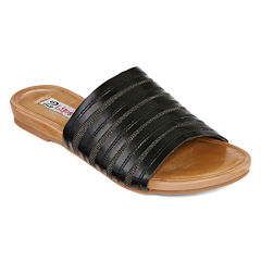 2 Lips Too Expect Flat Slip-On Sandals