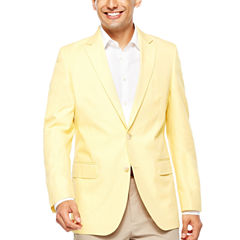 Stafford Classic Fit Woven Pin Dot Sport Coat