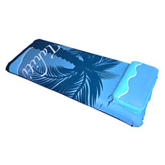 Blue Wave Drift + Escape 76-in Inflatable Pool Mattress