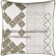 Decor 140 Landau Square Polyester Throw Pillow